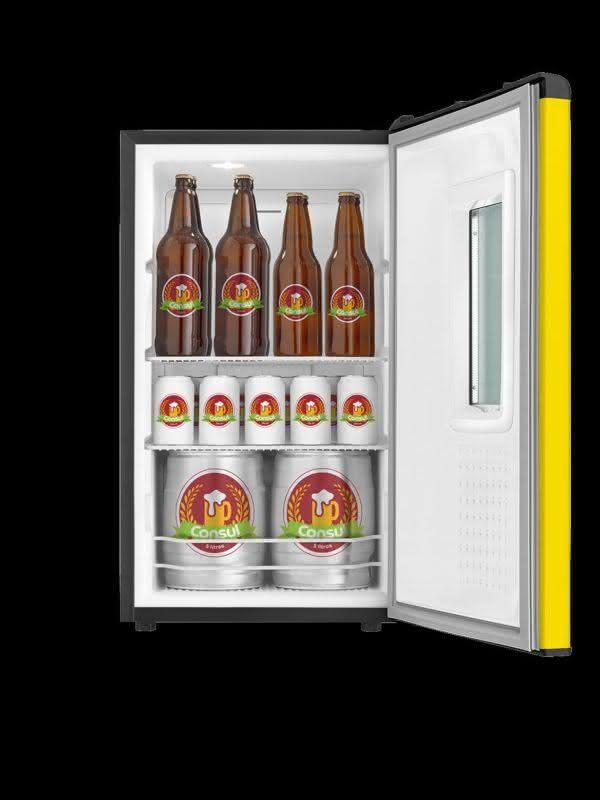 Cervejeira 82 litros Frost Free CZD12AYBNA Amarela - Consul 220 V 5