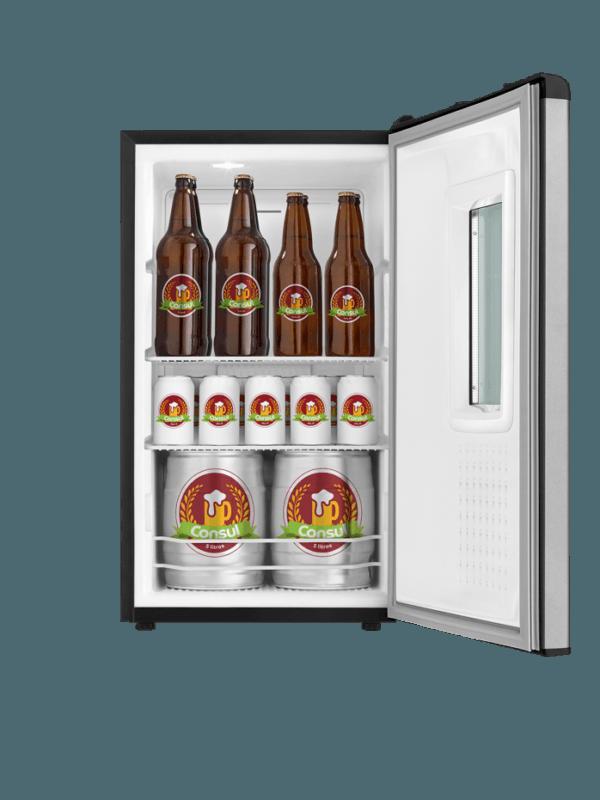 Cervejeira 82 litros Frost Free Titanium - CZD12ATBNA - Consul 220 V 7