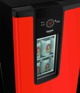 Cervejeira 82 litros Frost Free Vermelha - CZD12AVBNA - Consul 220 V 12