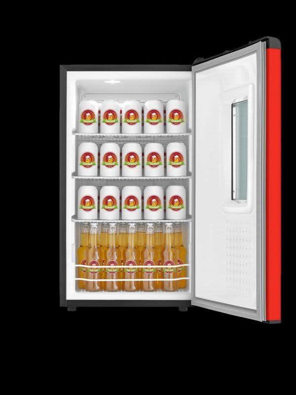 Cervejeira 82 litros Frost Free Vermelha - CZD12AVBNA - Consul 220 V 2
