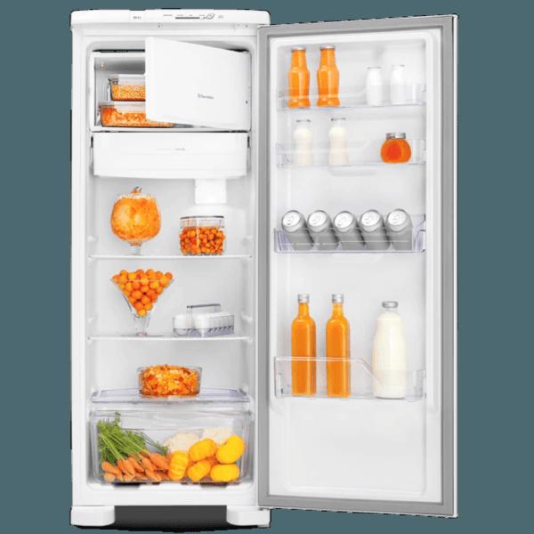 Geladeira / Refrigerador  240 litros Cycle Defrost Branco Controle de Temperatura RE31 - Electrolux 110 V 9