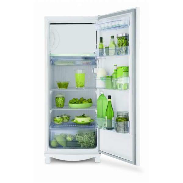 Geladeira / Refrigerador 261 litros Degelo Seco com Gavetão Hortifruti Branco - CRA30FBBNA - Consul 220 V 5