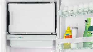 Geladeira / Refrigerador 342 litros Frost Free Inox Gavetão Hortifruti - CRB39AKANA - Consul 110 V 17