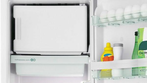 Geladeira / Refrigerador 342 litros Frost Free Inox Gavetão Hortifruti - CRB39AKANA - Consul 110 V 3