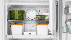 Geladeira / Refrigerador 342 litros Frost Free Inox Gavetão Hortifruti - CRB39AKANA - Consul 110 V 12