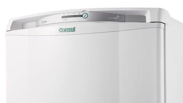 Geladeira / Refrigerador 342 litros Frost Free Inox Gavetão Hortifruti - CRB39AKANA - Consul 110 V 5