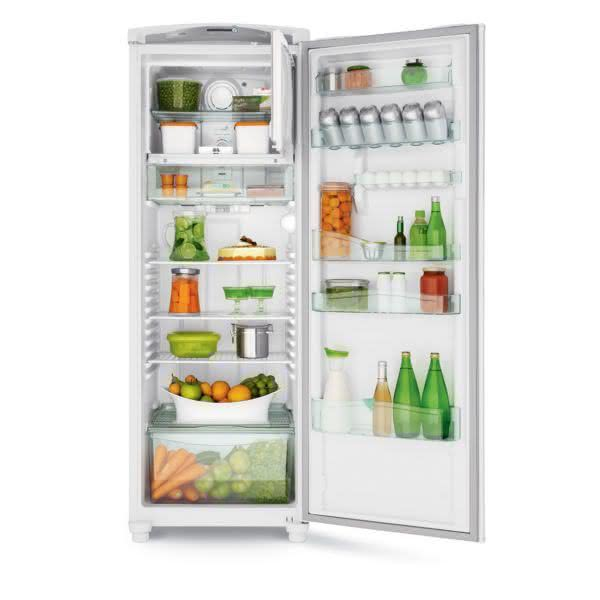 Geladeira / Refrigerador 342 litros Frost Free Inox Gavetão Hortifruti - CRB39AKANA - Consul 110 V 7