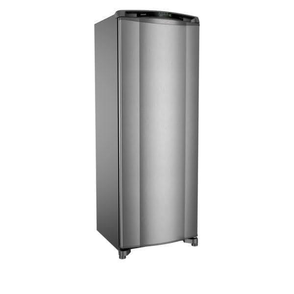 Geladeira / Refrigerador 342 litros Frost Free Inox Gavetão Hortifruti - CRB39AKANA - Consul 110 V 8