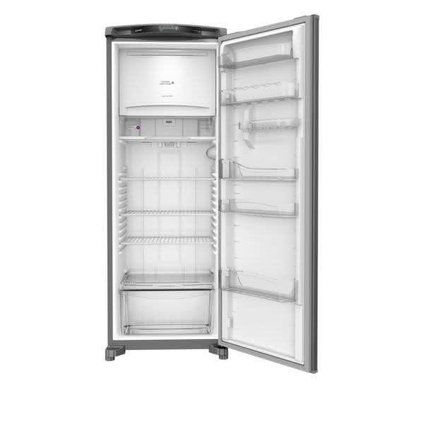 Geladeira / Refrigerador 342 litros Frost Free Inox Gavetão Hortifruti - CRB39AKANA - Consul 110 V 10