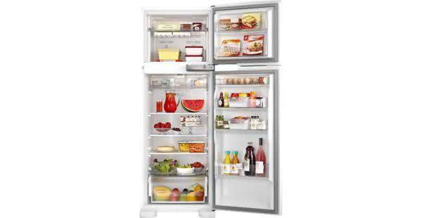 Geladeira / Refrigerador Duplex 352 litros Frost Free Branco - BRM39EBANA - Brastemp 110 V 3
