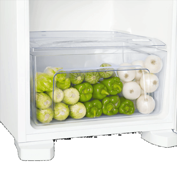 Geladeira / Refrigerador Duplex 362 litros Cycle Defrost Branco DC44 Electrolux 220 V 2