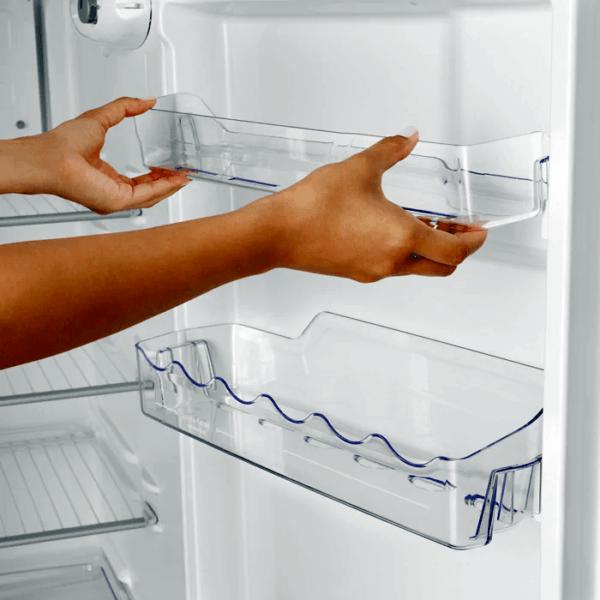 Geladeira / Refrigerador Duplex 362 litros Cycle Defrost Branco DC44 Electrolux 220 V 6