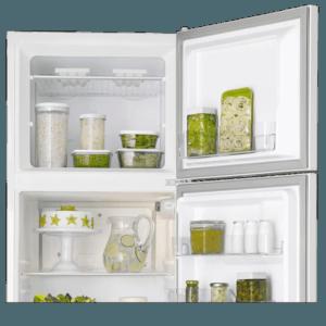 Geladeira / Refrigerador Duplex 362 litros Cycle Defrost Branco DC44 Electrolux 220 V 10