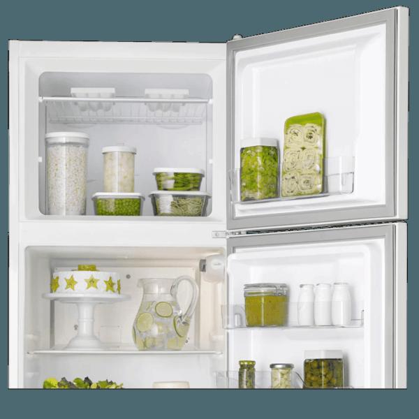 Geladeira / Refrigerador Duplex 362 litros Cycle Defrost Branco DC44 Electrolux 220 V 8