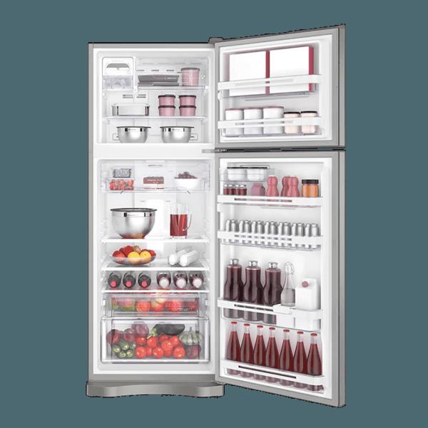 Geladeira / Refrigerador Duplex 427 litros Frost Free Branco Blue Touch DF53 - Electrolux 110 V 6