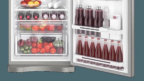 Geladeira / Refrigerador Duplex 427 litros Frost Free Branco Blue Touch DF53 - Electrolux 110 V 9