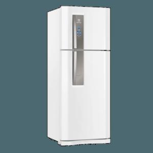 Geladeira / Refrigerador Duplex 427 litros Frost Free Branco Blue Touch DF53 - Electrolux 110 V 15