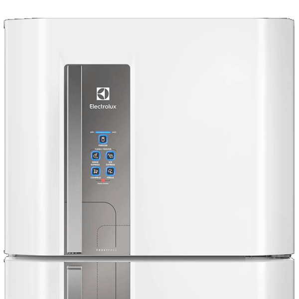 Geladeira / Refrigerador Duplex 427 litros Frost Free Branco Blue Touch DF53 - Electrolux 110 V 2