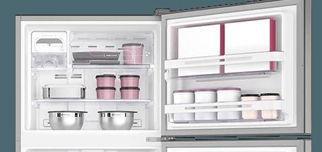 Geladeira / Refrigerador Duplex 427 litros Frost Free Branco Blue Touch DF53 - Electrolux 110 V 13