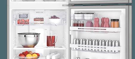 Geladeira / Refrigerador Duplex 427 litros Frost Free Branco Blue Touch DF53 - Electrolux 110 V 18