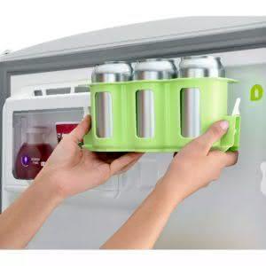 de397d54e Geladeira   Refrigerador Duplex 441 litros Frutaria Bem Estar Inox -  CRM54BKANA - Consul 110 V ...