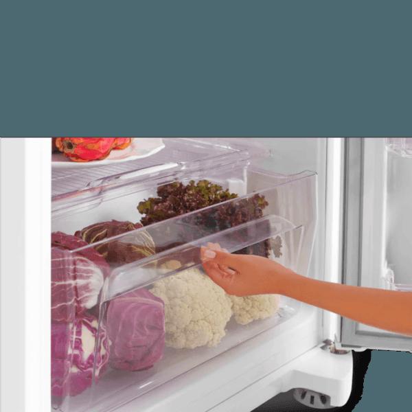 Geladeira / Refrigerador Duplex 462 litros Cycle Defrost Branco - DC49A - Electrolux 110 V 7