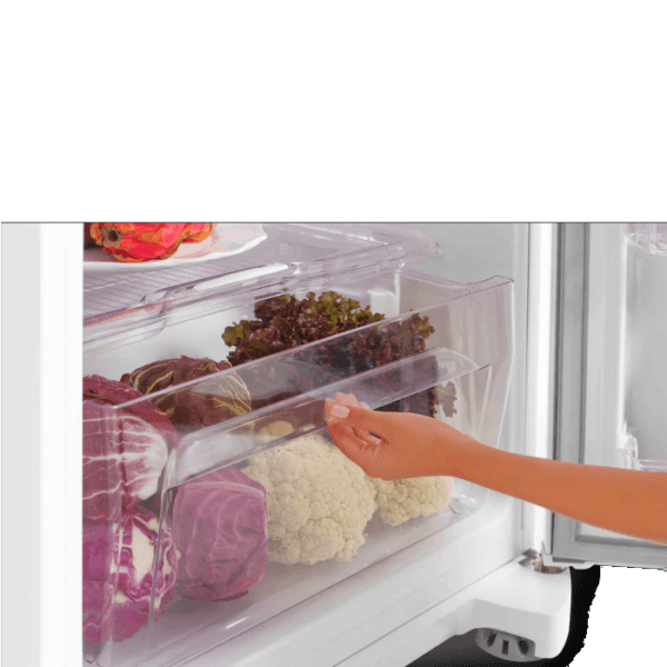 Geladeira / Refrigerador Duplex 462 litros Cycle Defrost Branco - DC49A - Electrolux 110 V 5