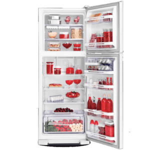 Geladeira / Refrigerador Duplex 475 litros Cycle Defrost Inox - DC51X - Electrolux 220 V 12