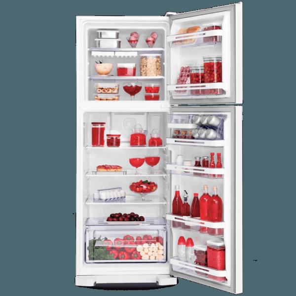 Geladeira / Refrigerador Duplex 475 litros Cycle Defrost Inox - DC51X - Electrolux 220 V 8