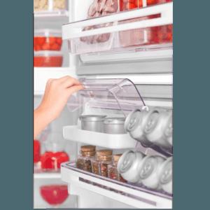 Geladeira / Refrigerador Duplex 475 litros Cycle Defrost Inox - DC51X - Electrolux 220 V 16