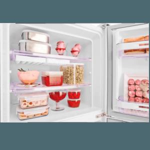 Geladeira / Refrigerador Duplex 475 litros Cycle Defrost Inox - DC51X - Electrolux 220 V 10