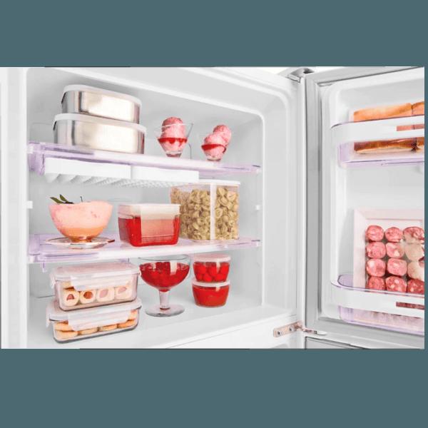 Geladeira / Refrigerador Duplex 475 litros Cycle Defrost Inox - DC51X - Electrolux 220 V 5
