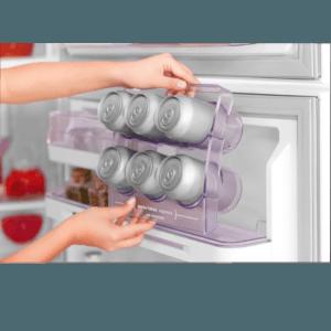 Geladeira / Refrigerador Duplex 475 litros Cycle Defrost Inox - DC51X - Electrolux 220 V 15