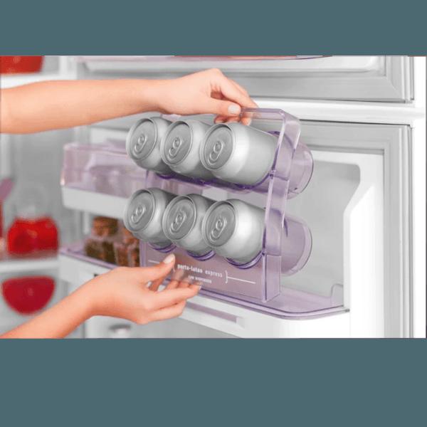 Geladeira / Refrigerador Duplex 475 litros Cycle Defrost Inox - DC51X - Electrolux 220 V 4