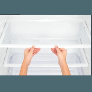 Geladeira / Refrigerador Duplex 475 litros Cycle Defrost Inox - DC51X - Electrolux 220 V 17