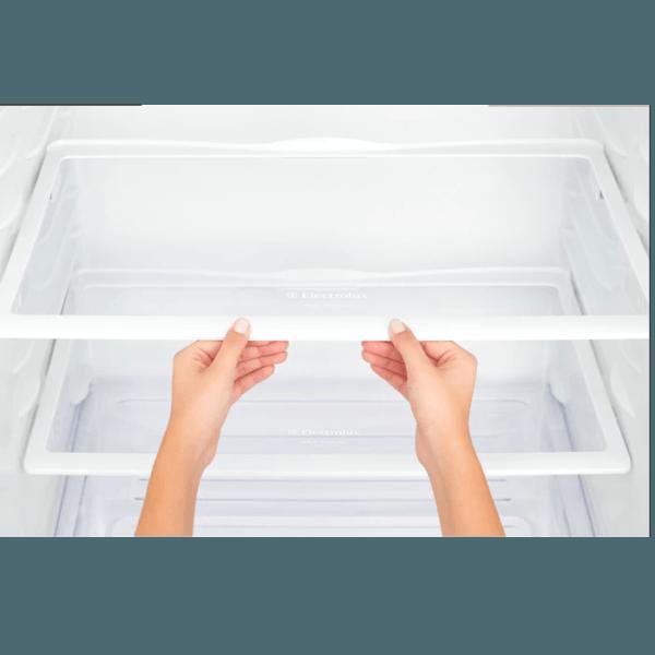Geladeira / Refrigerador Duplex 475 litros Cycle Defrost Inox - DC51X - Electrolux 220 V 3