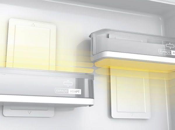 Geladeira / Refrigerador Duplex 478 litros Adega Freeze Control Frost Free Branco - BRM59ABANA - Brastemp 110 V 12