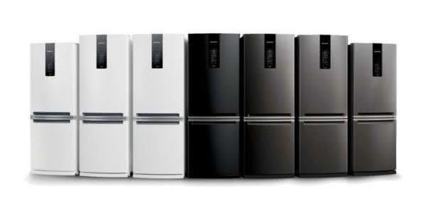 Geladeira / Refrigerador Duplex 478 litros Adega Freeze Control Frost Free Branco - BRM59ABANA - Brastemp 110 V 2