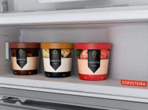 Geladeira / Refrigerador Duplex 500 litros Frost Free Branco - BRM58ABBNA - Brastemp 220 V 11