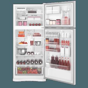 Geladeira / Refrigerador Duplex 553 litros Frost Free Branco Blue Touch DF82 Electrolux 110 V 11