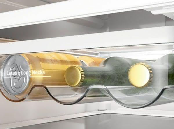 Geladeira / Refrigerador Inverse 443 litros Frost Free Inox - BRE57AKANA - Brastemp 110 V 6
