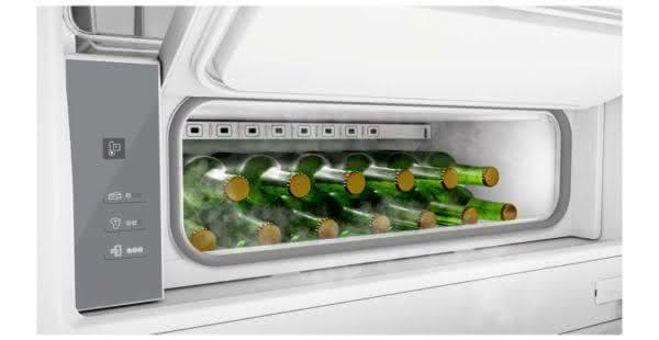 Geladeira / Refrigerador Inverse 460 litros Frost Free Freeze Control e Adega Branco - BRE59ABANA - Brastemp 110 V 2