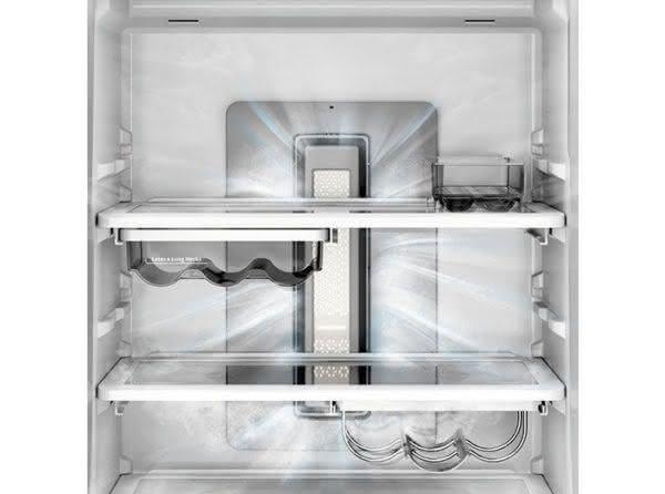 Geladeira / Refrigerador Inverse 460 litros Frost Free Freeze Control e Adega Branco - BRE59ABANA - Brastemp 110 V 12