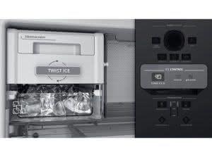 Geladeira / Refrigerador Inverse 478 litros Frost Free Adega e Turbo Ice Inox - BRE58AKANA - Brastemp 110 V