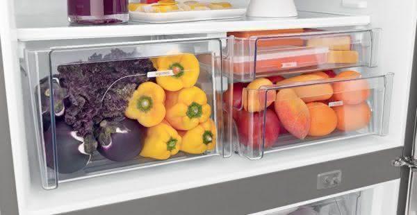 Geladeira / Refrigerador Inverse 573 litros Smart Ice Frost Free Branco - BRE80ABANA - Brastemp 110 V 7