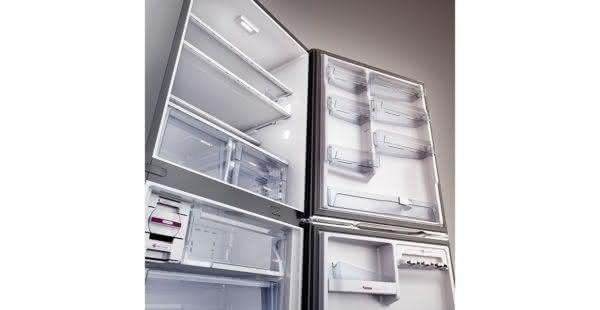 Geladeira / Refrigerador Inverse 573 litros Smart Ice Frost Free Branco - BRE80ABANA - Brastemp 110 V 6