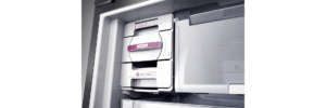 Geladeira / Refrigerador Inverse 573 litros Smart Ice Frost Free Inox - BRE80AKBNA - Brastemp 220 V 1