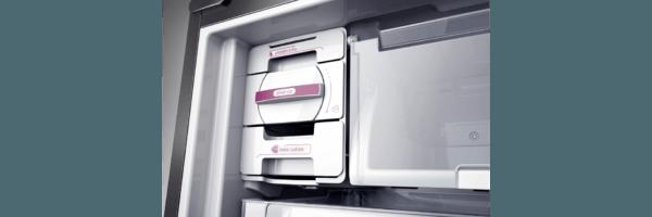 Geladeira / Refrigerador Inverse 573 litros Smart Ice Frost Free Branco - BRE80ABANA - Brastemp 110 V 9