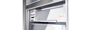 Geladeira / Refrigerador Inverse 573 litros Smart Ice Frost Free Inox - BRE80AKBNA - Brastemp 220 V 5