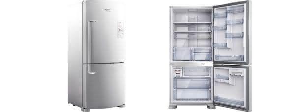 Geladeira / Refrigerador Inverse 573 litros Smart Ice Frost Free Branco - BRE80ABANA - Brastemp 110 V 4